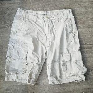 Urban Pipeline Beige/khaki cargo shorts. Size 30.